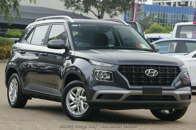 New Hyundai Venue QX.V3 MY21 Castle Hill, 2021 Hyundai Venue QX.V3 MY21 Cosmic Grey 6 Speed Automatic Wagon