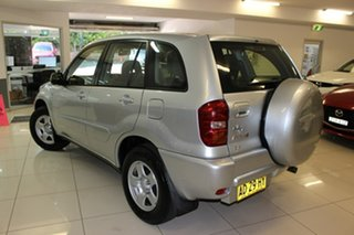 2005 Toyota RAV4 ACA23R CV Silver 4 Speed Automatic Wagon.