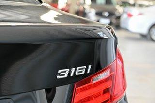 2014 BMW 3 Series F30 MY1114 316i Modern Line Black 8 Speed Automatic Sedan