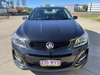2016 Holden Commodore VF II MY16 SV6 Black Black/151216 6 Speed Sports Automatic Sedan