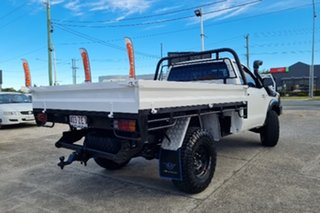 2006 Toyota Hilux KUN26R MY07 SR White 4 Speed Automatic Cab Chassis