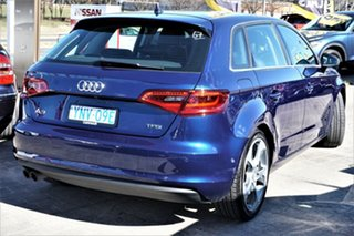 2013 Audi A3 8P MY13 Ambition Sportback S Tronic Blue 7 Speed Sports Automatic Dual Clutch Hatchback