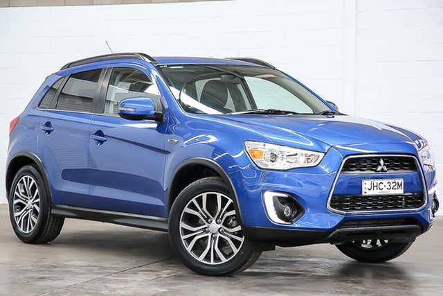 Used Mitsubishi ASX XB MY15.5 LS 2WD Erina, 2016 Mitsubishi ASX XB MY15.5 LS 2WD Blue 6 Speed Constant Variable Wagon