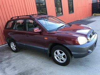 2004 Hyundai Santa Fe SM MY04 Elite GL Maroon 4 Speed Sports Automatic Wagon