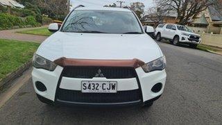 2011 Mitsubishi Outlander ZH MY11 LS (FWD) 6 Speed CVT Auto Sequential Wagon.