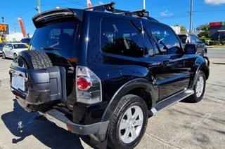 2008 Mitsubishi Pajero NT MY09 R Black 5 Speed Sports Automatic Hardtop.