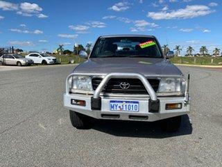 2000 Toyota Landcruiser FZJ105R (4x4) Silver 5 Speed Manual 4x4 Wagon.
