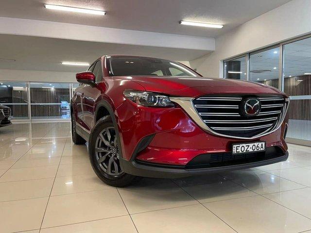 Demo Mazda CX-9 TC Sport SKYACTIV-Drive Waitara, 2021 Mazda CX-9 TC Sport SKYACTIV-Drive Red 6 Speed Sports Automatic Wagon