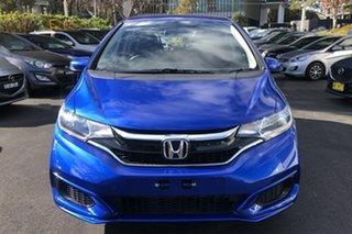 2018 Honda Jazz GF MY18 VTi Brilliant Sporty Blue 1 Speed Constant Variable Hatchback.