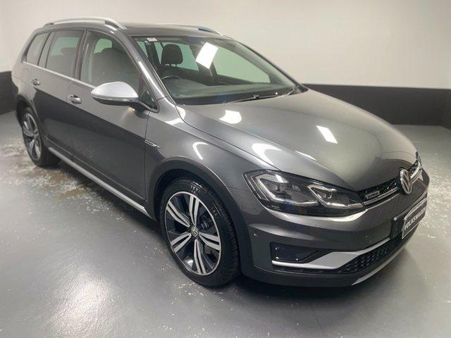 Used Volkswagen Golf 7.5 MY18 Alltrack DSG 4MOTION 132TSI Premium Cardiff, 2018 Volkswagen Golf 7.5 MY18 Alltrack DSG 4MOTION 132TSI Premium Indium Grey 6 Speed