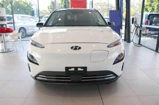 2021 Hyundai Kona Os.v4 MY21 electric Highlander Atlas White Black Roof 1 Speed Reduction Gear Wagon.
