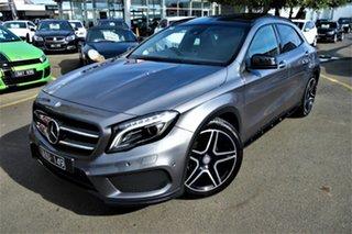 2014 Mercedes-Benz GLA-Class X156 GLA200 CDI DCT Grey 7 Speed Sports Automatic Dual Clutch Wagon.