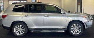 2011 Toyota Kluger GSU45R MY11 Grande AWD Silver 5 Speed Sports Automatic Wagon.