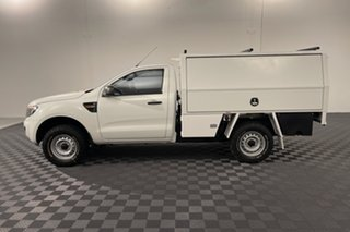 2014 Ford Ranger PX XL White 6 speed Automatic Cab Chassis