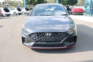 2021 Hyundai i30 Pde.v4 MY22 N D-CT Dark Knight 8 Speed Sports Automatic Dual Clutch Hatchback.