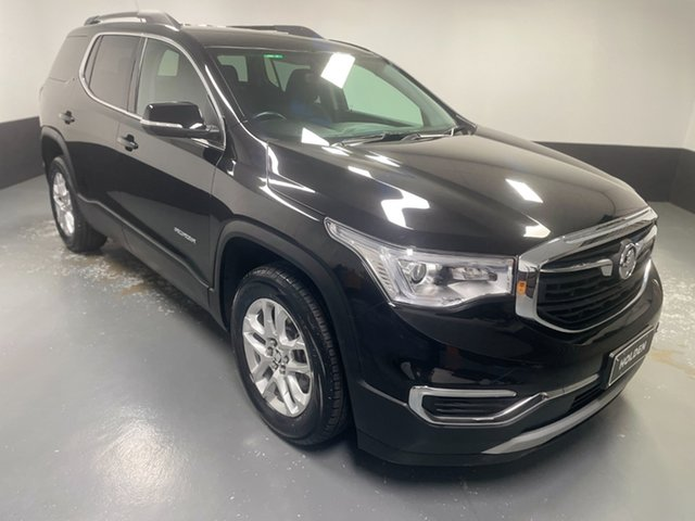 Used Holden Acadia AC MY19 LT 2WD Cardiff, 2019 Holden Acadia AC MY19 LT 2WD Black 9 Speed Sports Automatic Wagon