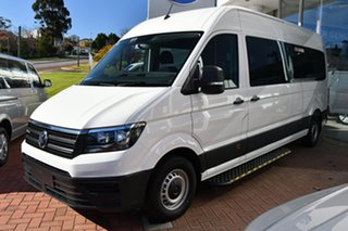 2021 Volkswagen Crafter SY1 MY21 35 High Roof LWB 4MOTION TDI410 Candy White 8 Speed Automatic Van