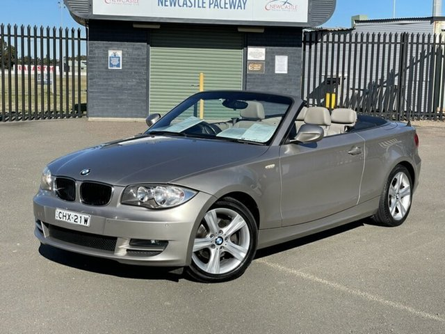 Used BMW 120i E88 MY10 120i Newcastle, 2010 BMW 120i E88 MY10 120i Beige 6 Speed Automatic Convertible