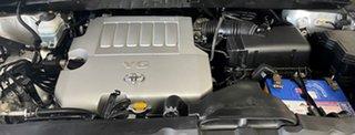 2011 Toyota Kluger GSU45R MY11 Grande AWD Silver 5 Speed Sports Automatic Wagon
