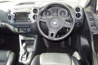 2013 Volkswagen Tiguan 5N MY13.5 155TSI DSG 4MOTION White 7 Speed Sports Automatic Dual Clutch Wagon