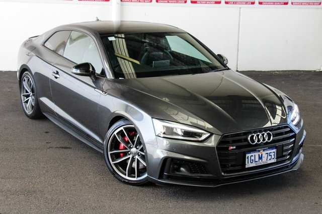 Pre-Owned Audi S5 F5 MY17 3.0 TFSI Quattro Myaree, 2017 Audi S5 F5 MY17 3.0 TFSI Quattro Grey 8 Speed Automatic Tiptronic Coupe