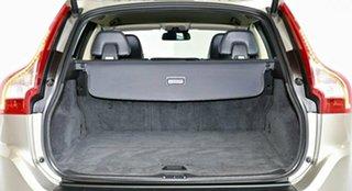 2013 Volvo XC60 DZ MY13 D4 Geartronic Teknik Silver 6 Speed Sports Automatic Wagon