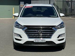 2020 Hyundai Tucson TL3 MY20 Elite AWD White 8 Speed Sports Automatic Wagon.