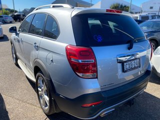 2015 Holden Captiva CG MY15 7 AWD LTZ Silver 6 Speed Sports Automatic Wagon.