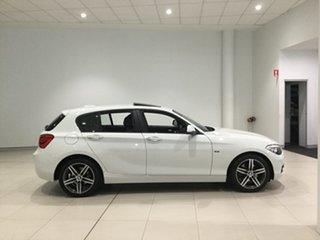 2015 BMW 1 Series F20 LCI 120i Steptronic Sport Line Alpine White 8 Speed Sports Automatic Hatchback.