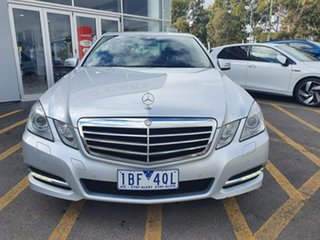 2011 Mercedes-Benz E-Class W212 MY12 E250 CDI BlueEFFICIENCY 7G-Tronic + Avantgarde Silver 7 Speed.