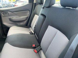 2018 Mitsubishi Triton MQ MY18 GLX Double Cab White Solid 6 Speed Manual Cab Chassis