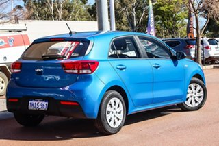 2021 Kia Rio YB S Blue Automatic Hatchback.