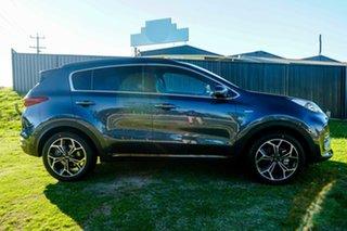 2021 Kia Sportage QL MY21 GT-Line AWD Mercury Blue 6 Speed Sports Automatic Wagon.