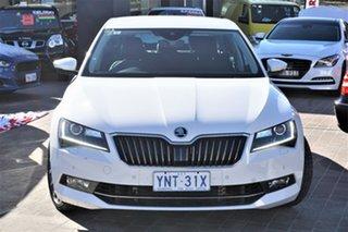 2019 Skoda Superb NP MY19 206TSI Sedan DSG Moon White 6 Speed Sports Automatic Dual Clutch Liftback.