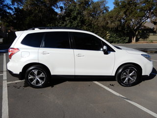 2015 Subaru Forester S4 MY15 2.5i-L CVT AWD Special Edition White 6 Speed Constant Variable Wagon