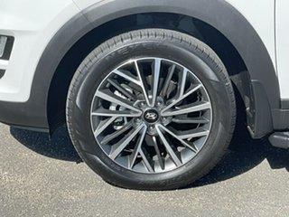 2020 Hyundai Tucson TL3 MY20 Elite AWD White 8 Speed Sports Automatic Wagon