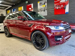 2016 Land Rover Range Rover Sport L494 SE Red Sports Automatic Wagon.