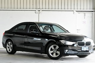 2014 BMW 3 Series F30 MY1114 316i Modern Line Black 8 Speed Automatic Sedan.