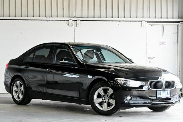 Used BMW 3 Series F30 MY1114 316i Modern Line Laverton North, 2014 BMW 3 Series F30 MY1114 316i Modern Line Black 8 Speed Automatic Sedan