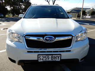 2015 Subaru Forester S4 MY15 2.5i-L CVT AWD Special Edition White 6 Speed Constant Variable Wagon.