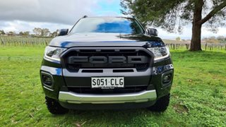 2021 Ford Ranger PX MkIII 2021.25MY Wildtrak Shadow Black 10 Speed Sports Automatic.