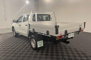 2019 Mitsubishi Triton MR MY19 GLX Double Cab 4x2 ADAS White 6 speed Automatic Utility