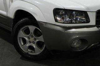 2003 Subaru Forester 79V MY03 X AWD White 5 Speed Manual Wagon.