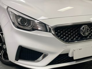 2018 MG MG3 SZP1 MY18 Excite White 4 Speed Automatic Hatchback.