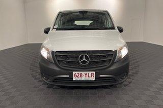 2018 Mercedes-Benz Vito 447 114BlueTEC SWB 7G-Tronic + White 7 speed Automatic Van.