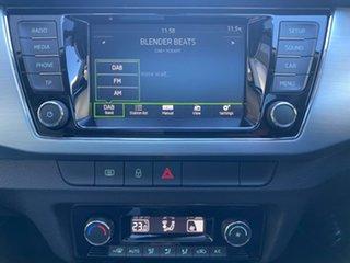 2016 Skoda Fabia NJ MY17 66TSI Green 5 Speed Manual Hatchback