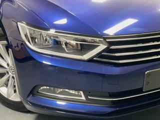 2019 Volkswagen Passat 3C (B8) MY19 132TSI DSG Blue 7 Speed Sports Automatic Dual Clutch Wagon.