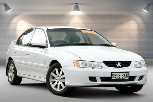 Used Holden Commodore VY II 25th Anniversary Gepps Cross, 2003 Holden Commodore VY II 25th Anniversary White 4 Speed Automatic Sedan