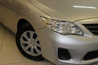 2011 Toyota Corolla ZRE152R MY11 Ascent Silver 4 Speed Automatic Sedan.