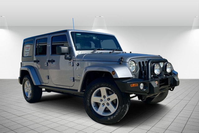 Used Jeep Wrangler JK MY2014 Unlimited Freedom Hervey Bay, 2013 Jeep Wrangler JK MY2014 Unlimited Freedom Silver 6 Speed Manual Softtop